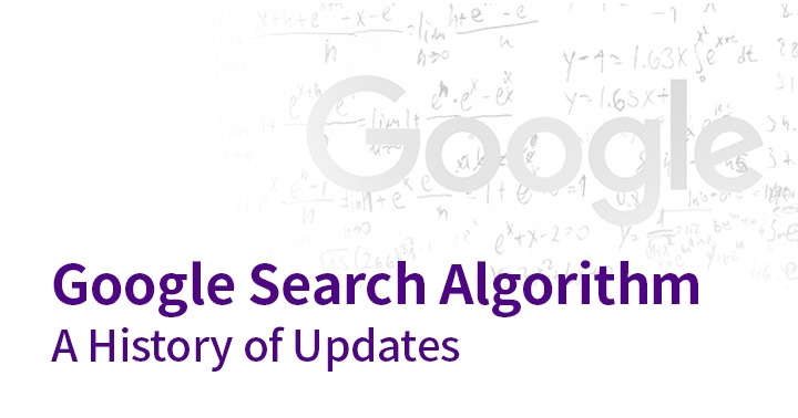 Google search algorithm changes - a history of updates